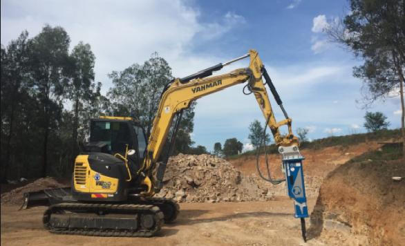 Melbournes Best Excavations, Hammer Excavator