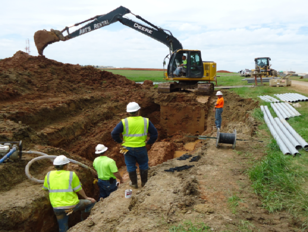 The Best Ground Conditions for trenching